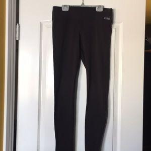 Pink! Ultimate Black High Waist Leggings